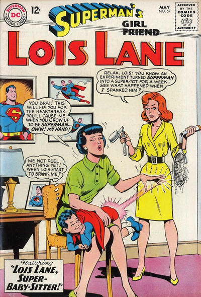 Episode #382 Part IV: Superman Family Comic Book Cover Dated May 1965: Superman's Girl Friend Lois Lane #57!