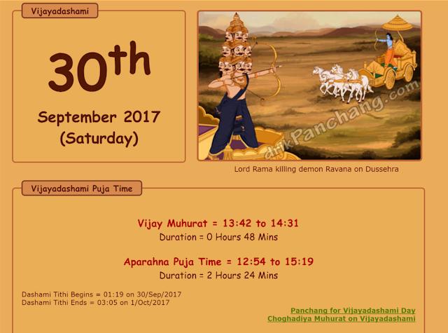 AP Dasara (dusshera) holidays 2017 Postponed due to AP Swachh Hi Sewa Campaign Program