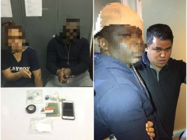 Nigerian-man-and-his-Thai-wife-arrested-for-alleged-cocaine-peddling-in-Bangkok