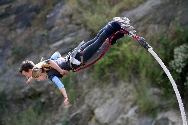 Lonavala - one of the best bungee jumping spots in India.