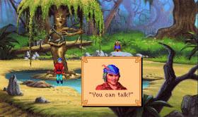 Videojuego King's Quest V - VGA 1990
