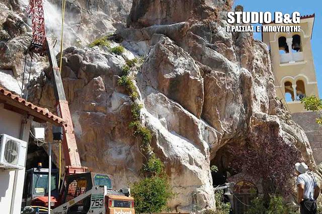 Ξεκίνησαν τα έργα αντιστήριξης στο σπήλαιο της Ζωοδόχου Πηγής στο Κεφαλάρι Άργους