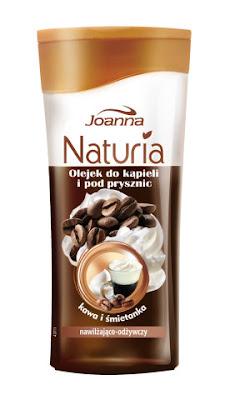 Joanna – Naturia – Kawa i śmietanka – olejek do kąpieli i pod prysznic /recenzja/