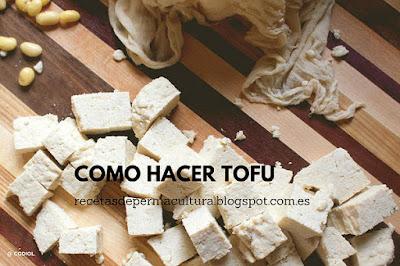 Hacer Tofu Casero, fácil de hacer