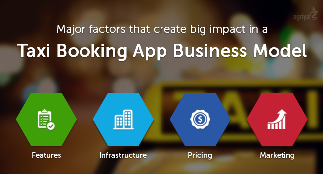 taxi booking app business model