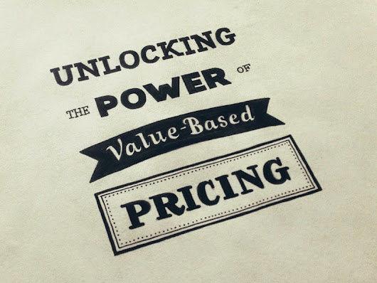 Value based pricing - Saving digital marketing agencies and helping grow