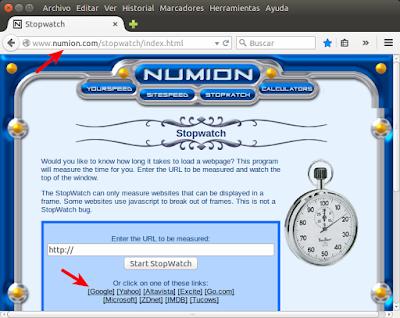 numion stopwatch