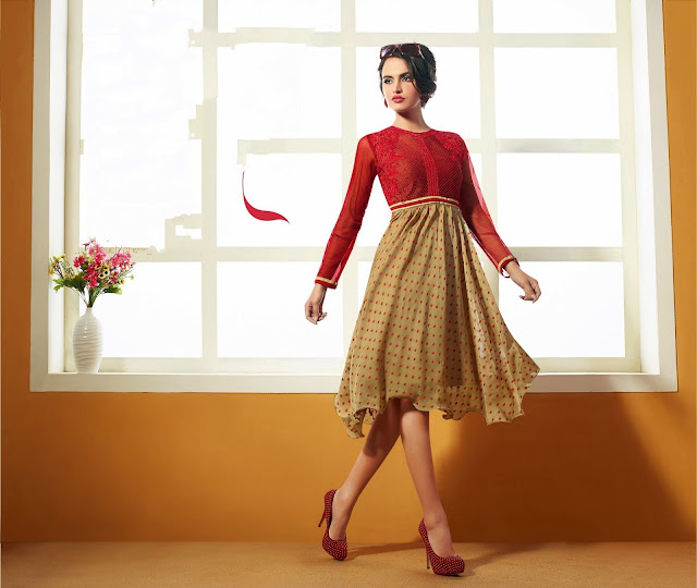Explore the collection of kurtis and tops for women online