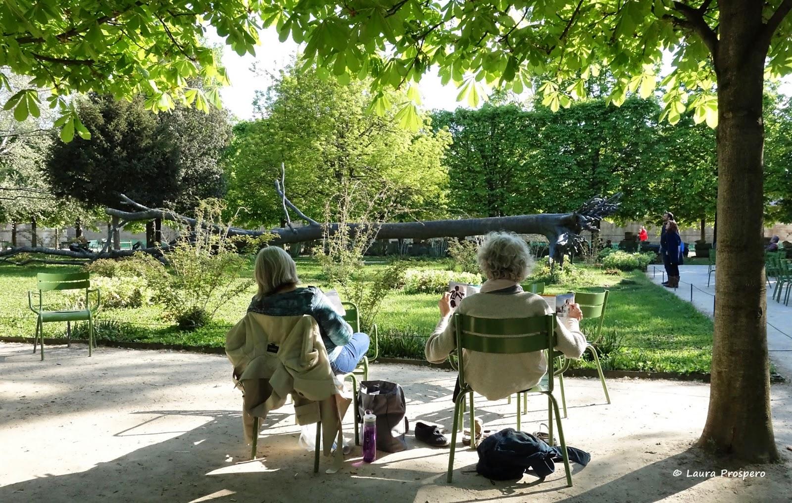 L'Arbre des Voyelles de Giuseppe Penone a Jardin des Tuileries, Paris © Laura Próspero