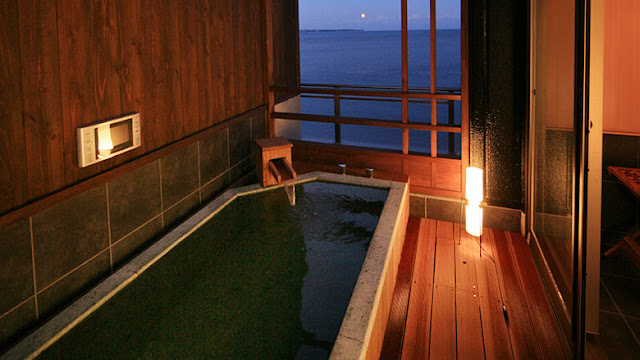 潮騷之宿晴海 Shiosai no Yado Seika - Type G 客房 房內私人風呂