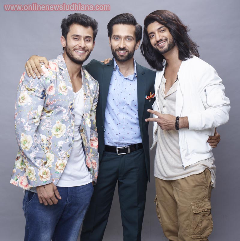 Shivaay, Omkara and Rudra played by Nakuul Mehta, Kunal Jaisingh and Leenesh Mattoo in show Ishqbaaaz