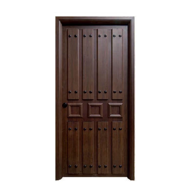 Puertas rusticas en aluminio for Puerta madera rustica
