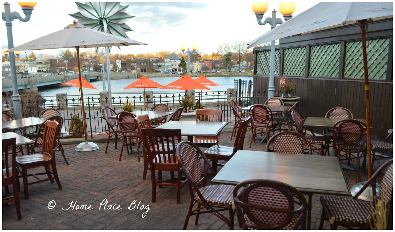 The Patio Overlooking Saugatuck River