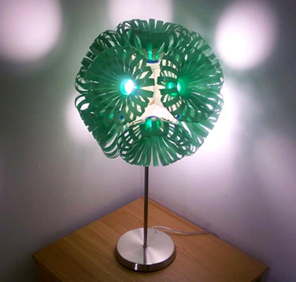 Recycled Plastic Bottle: Decorative Lighting Recycled Plastic Bottles