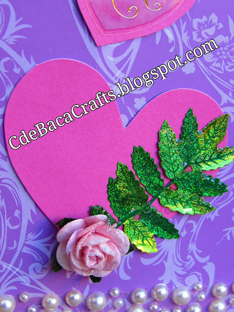 Valentine's Day Card by CdeBaca Crafts.