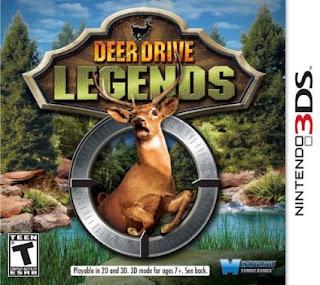 Deer Drive Legends 3DS CIA USA Region Free Google Drive Link