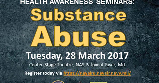 #SMCSO to present at Health Awareness Seminars at NAS Patuxent River