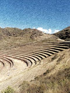 Terraços Agrícolas em Pisac