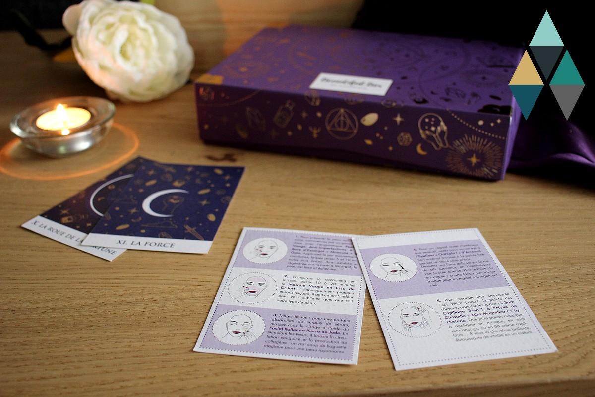avis et test Beautiful box by Aufeminin tuto et conseils