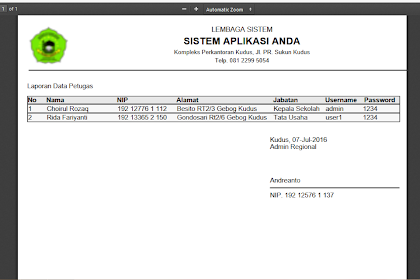 CARA MEMBUAT CETAK PDF DENGAN HTML2PDF ( TCPDF ) - Bagian 1