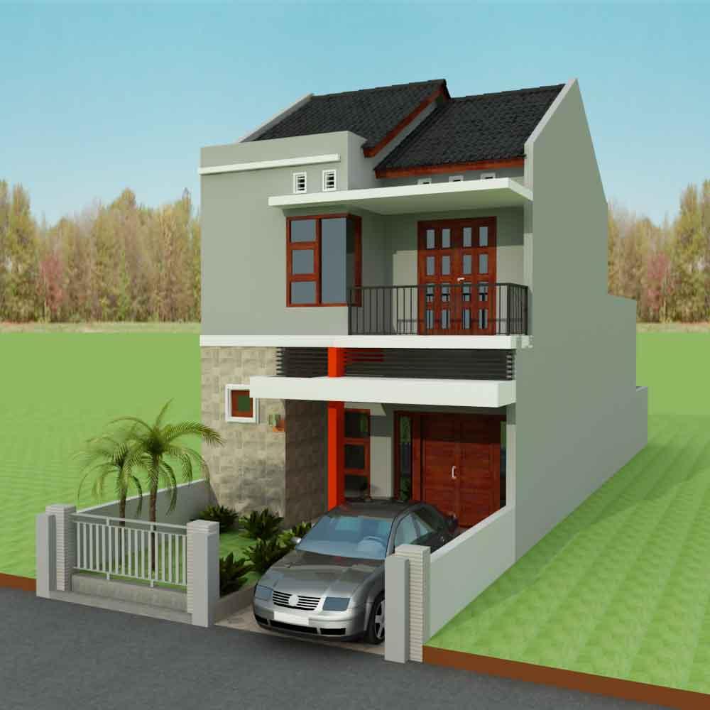 100 Gambar Rumah Minimalis 2 Lantai Type 36 Gambar Desain Rumah