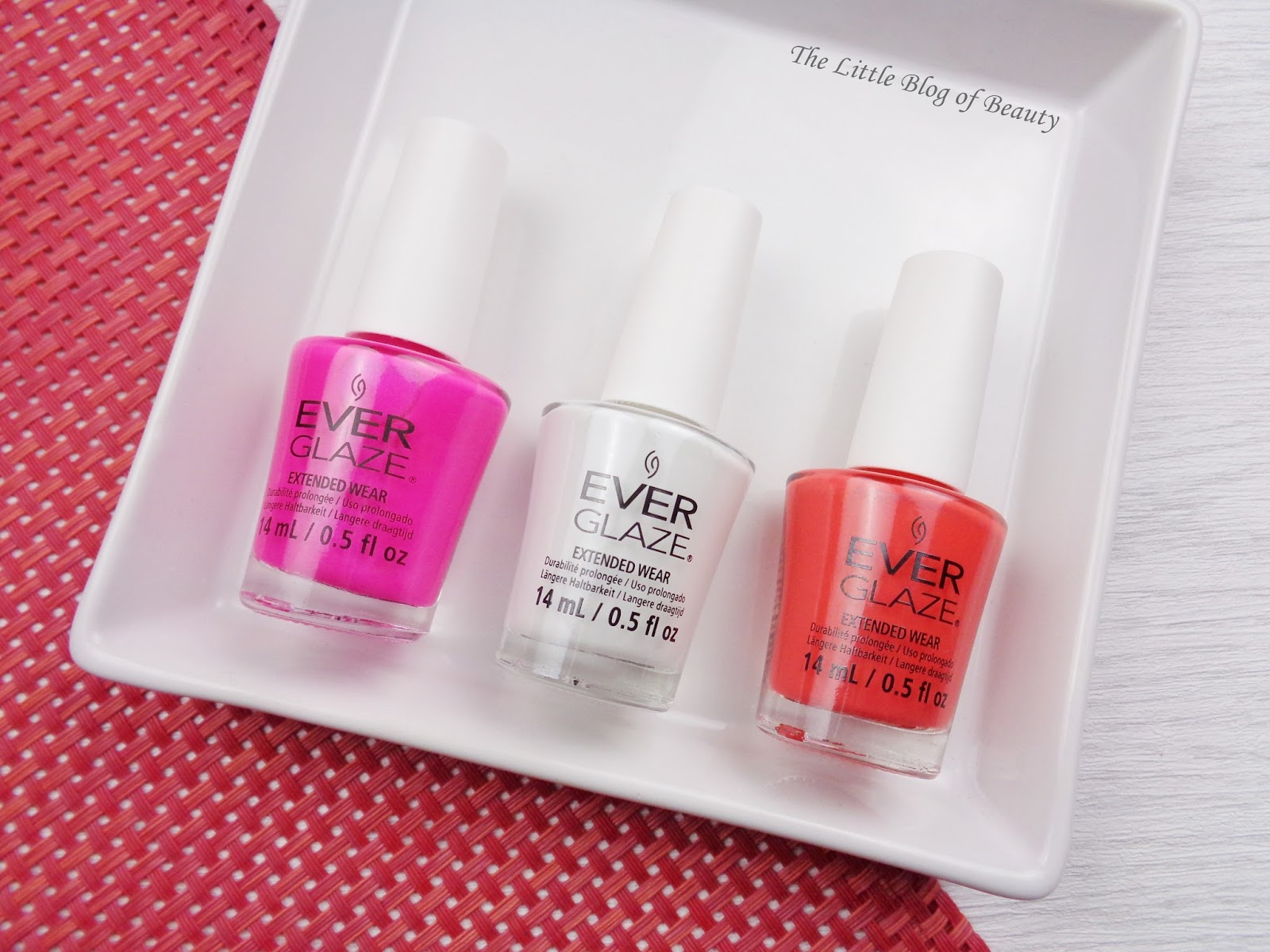 China Glaze Ever Glaze Extended wear gel nail varnishes | The Little ...