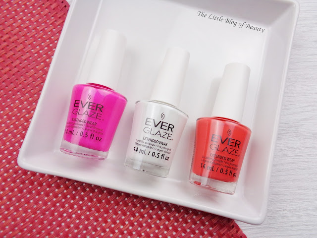 China Glaze Ever Glaze Extended wear gel nail varnishes