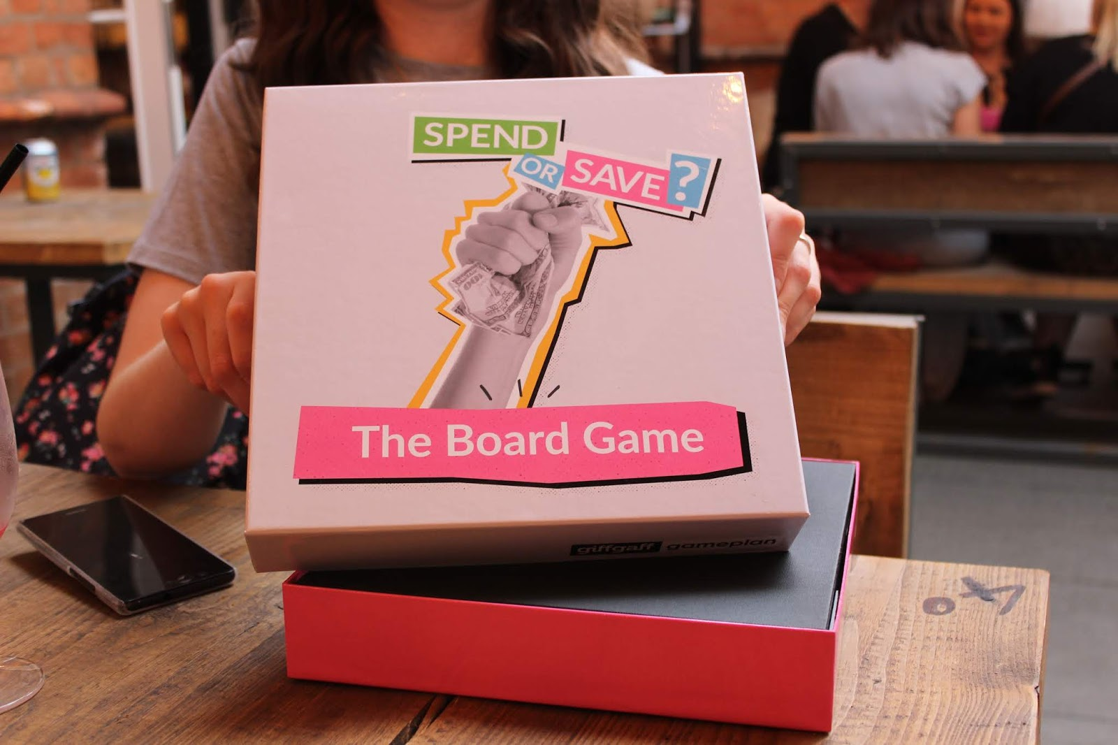 Spend or Save the GiffGaff Board Game