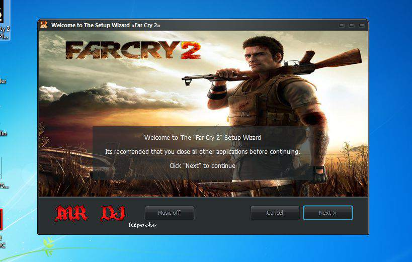 Far cry 2 compressed in 2 GB