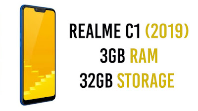 Realme C1 (2019) Launched in India : Price & Specifications