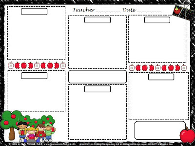 Weekly Preschool Lesson Plan Template By Mommy And Me Creations TpT