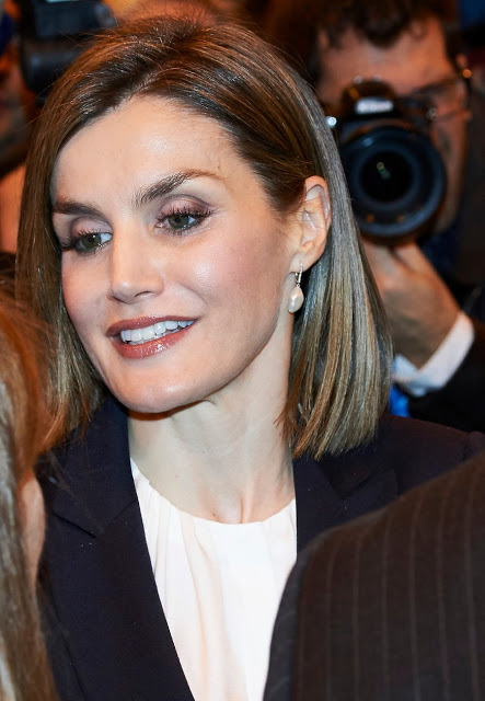 Queen Letizia Attended The Opening Of International Tourism Fair