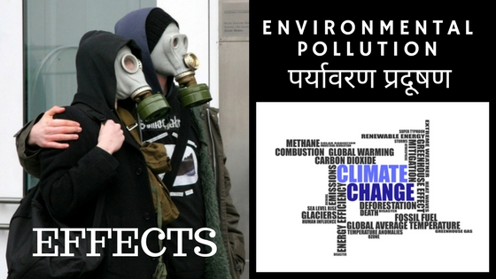 Environmental & Air Pollution Effects in Hindi