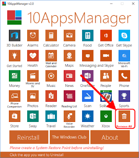 10AppsManager per Windows 10