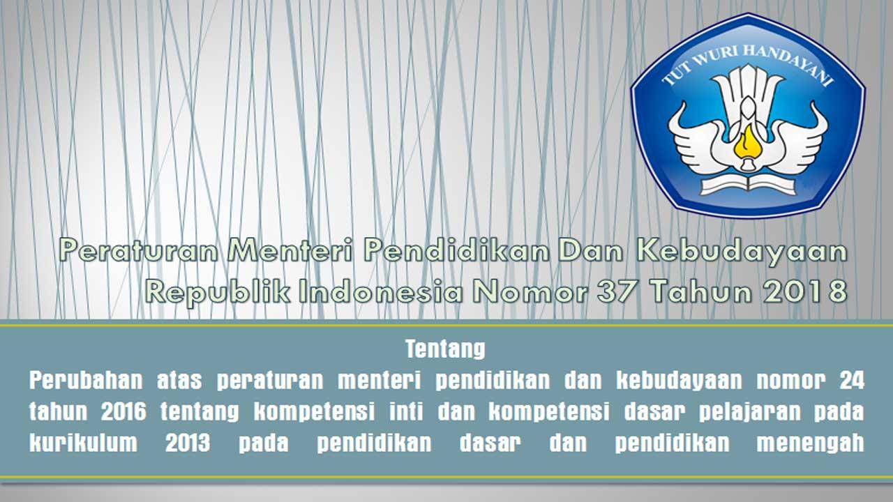 Download KI-KD SD MI SMP MTs MA SMA SMK 2013 Kurikulum 2013 Revisi 2018