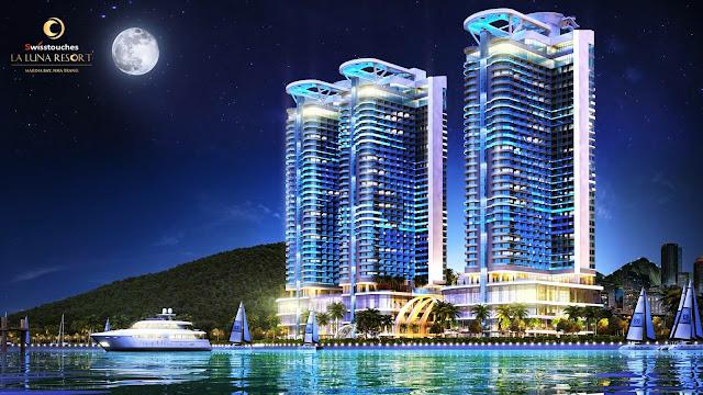 phối cảnh Laluna Resort Nha Trang
