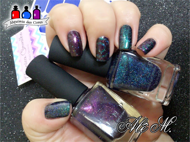 ILNP, I Love Nail Polish Brand, Summer Collection 2016, Interstellar, Storytelling, Holografico, Mani tape, Coletivo, Alquimia das Cores, Alê M.