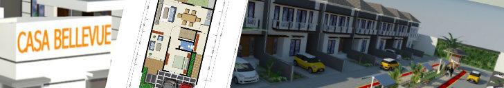 header perumahan casa bellevue dekat bintaro jaya sektor 9