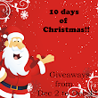 10 days of Christmas Giveaway Signups