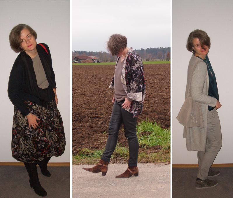 Herbstliche Outfits für große Frauen über 40