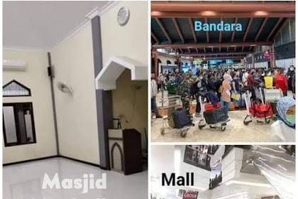 Kenapa Masjid Ditutup, Tapi Bandara dan Mall Bebas Dibuka?