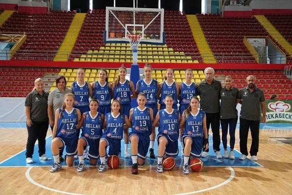 Ευρωπαϊκό Κορασίδων U16β: Ουκρανία-Ελλάδα 36-53 και 3η θέση στην κατηγορία