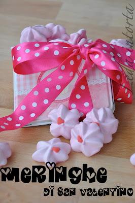 dolci di San Valentino, ricetta meringhe facile