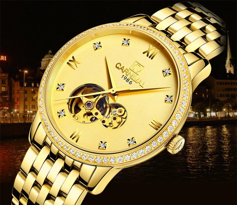 đồng hồ vàng giá rẻ
