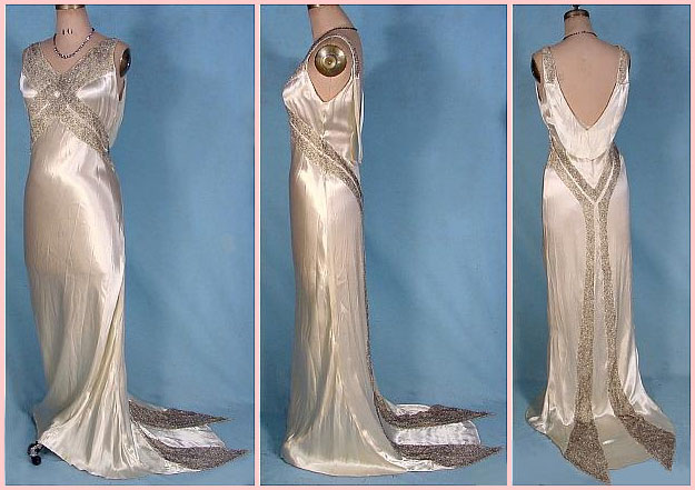 1930s Wedding Gowns: THE WEDDING BLOG DESIGNER: THE HUMBLE WEDDING GOWN