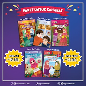 Promo Buku Anak: Paket Untuk Sahabat