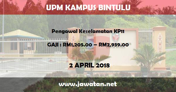 Jawatan Kosong di Universiti Putra Malaysia (UPM) Kampus Bintulu Sarawak