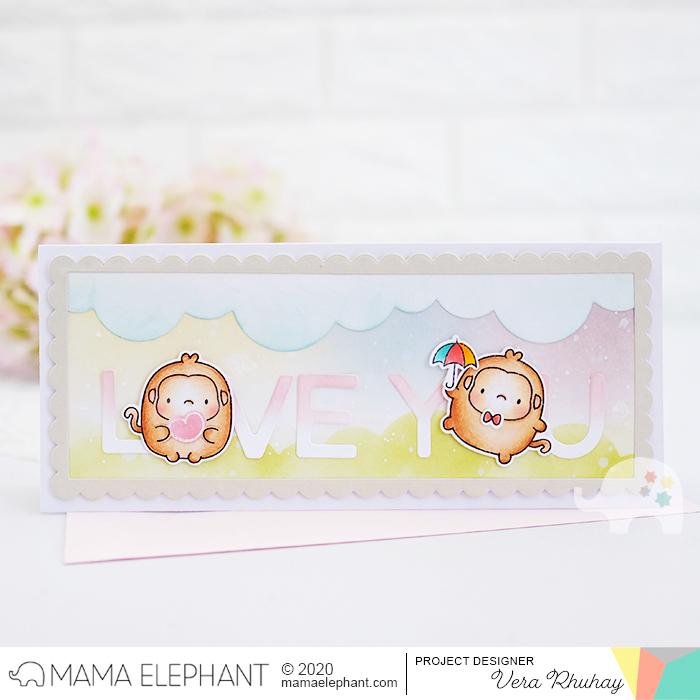 moccavanila by vera rhuhay: MAMA ELEPHANT - ZODIAC MONKEY