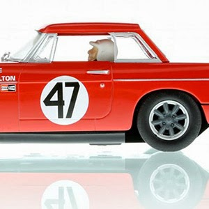 ManicSlots' slot cars and scenery: NEWS: Scalextric MGB
