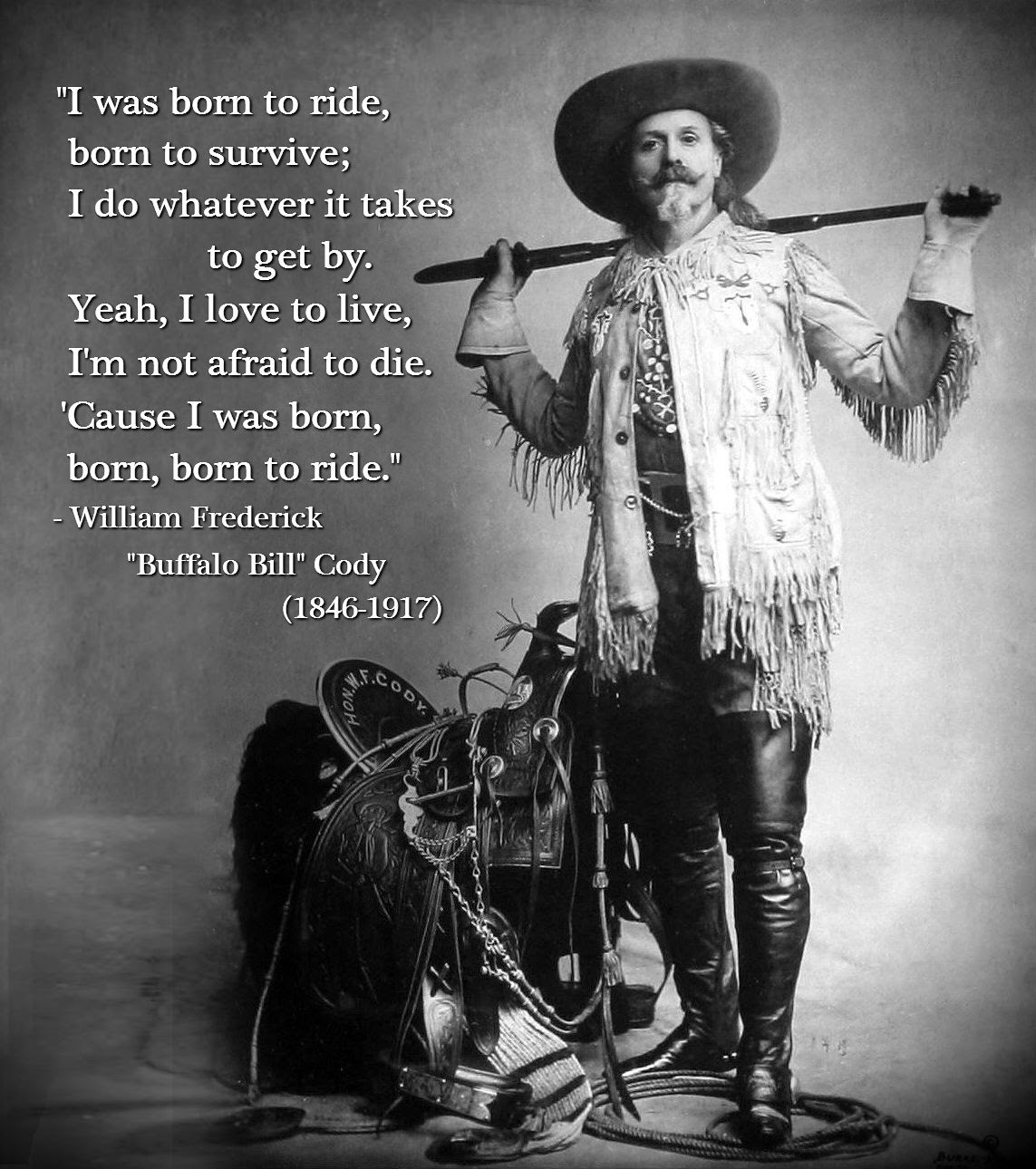 Tommy Mondello... aka... Buffalo Bill Cody